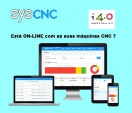SYScnc > SISTEMA ON-LINE PARA MÁQUINAS CNC