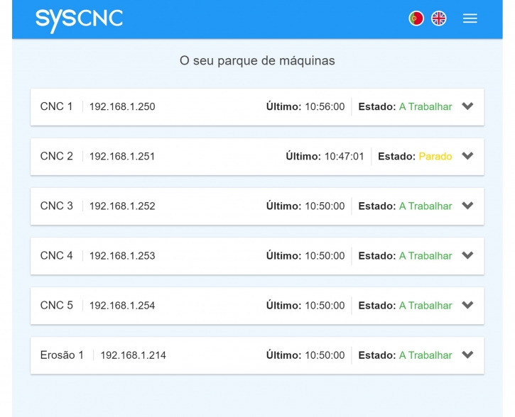 SYScnc > ON-LINE SYSTEM FOR CNC MACHINES