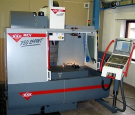 MILLING MACHINE  - MAS MCV 750 SPRINT