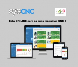 SYS-CNC : ON-LINE SYSTEM FOR CNC MACHINES